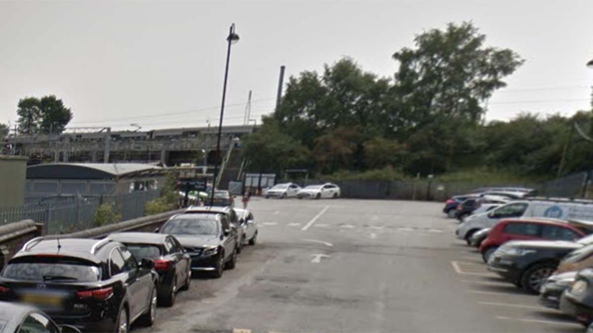 The car park at Lichfield Trent Valley. Picture: Google Streetview