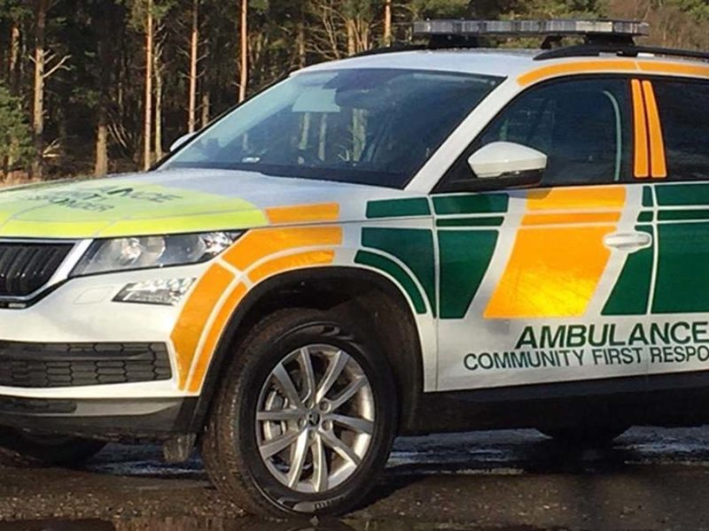 A community first responders vehicle