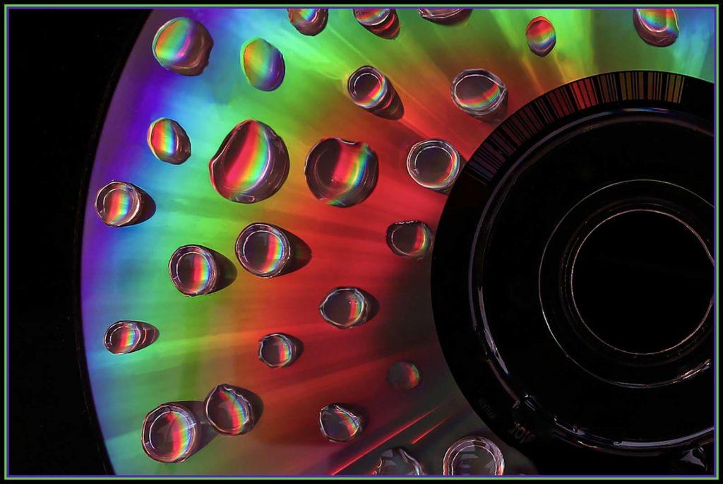Musical Rain Drops by Debra Dingley