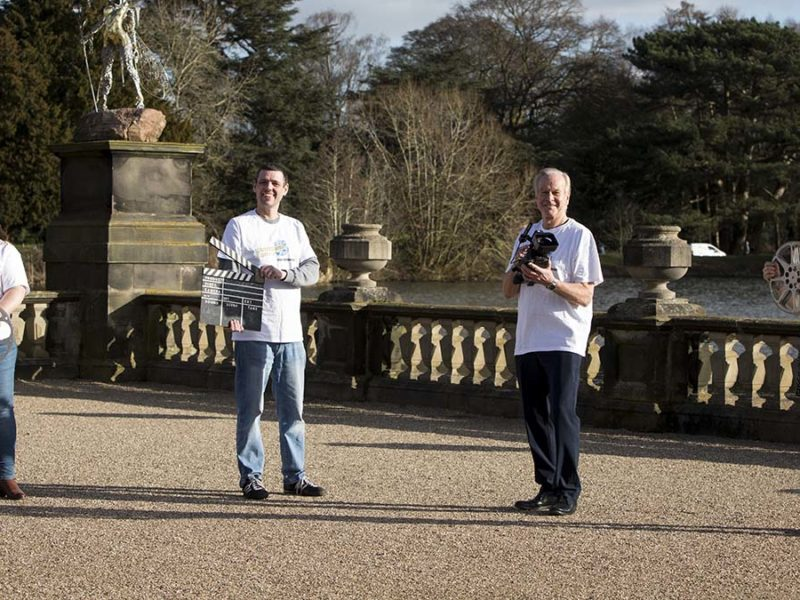 The launch of the Staffordshire Day Film Competition