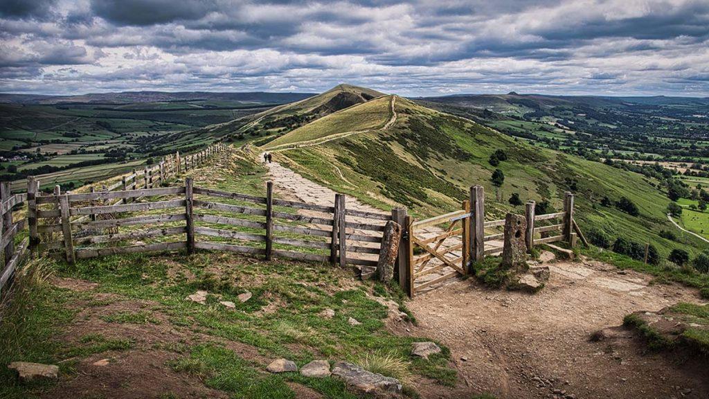 The Great Ridge - Mam Tor by Joe Anderson