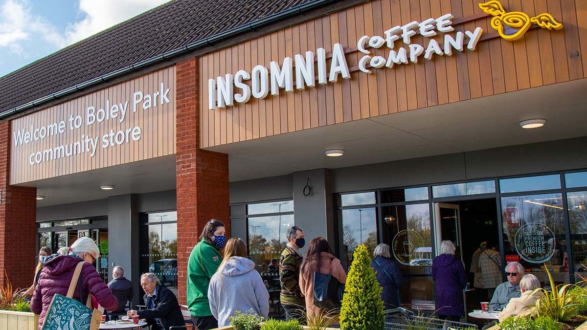 The new Insomnia Coffee Company store