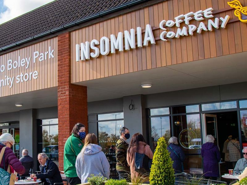 The new Insomnia Coffee Company store