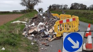 Campaign urging construction firms in Lichfield and Burntwood to take responsibility for waste