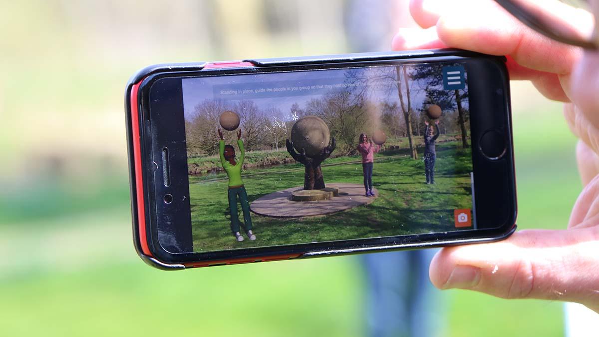 The ARboretum app