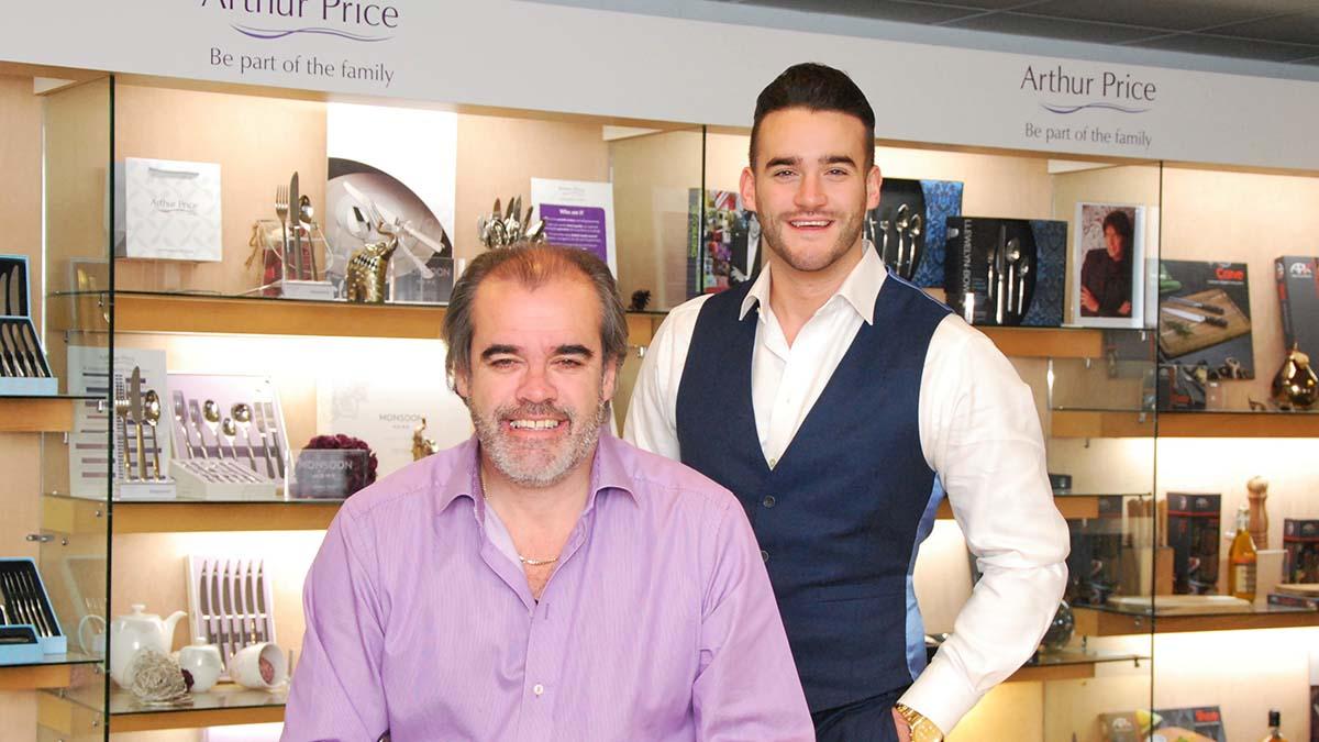 Simon and James Price