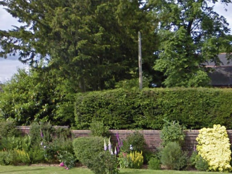 The land earmarked for a new bungalow. Picture: Google Streetview