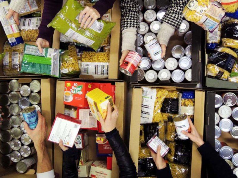Foodbank sorting
