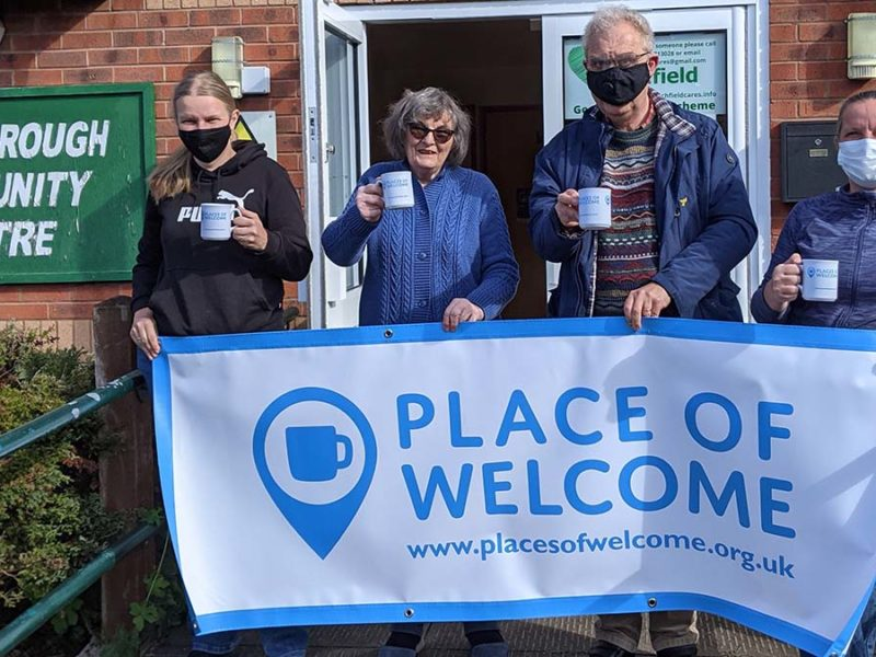 Volunteers from Lichfield Cares