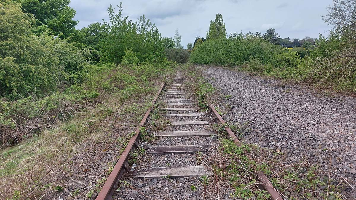 The former South Staffordshire Railway line