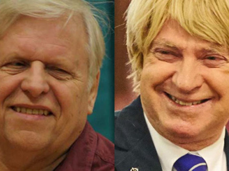 Cllr Steve Norman and Michael Fabricant MP