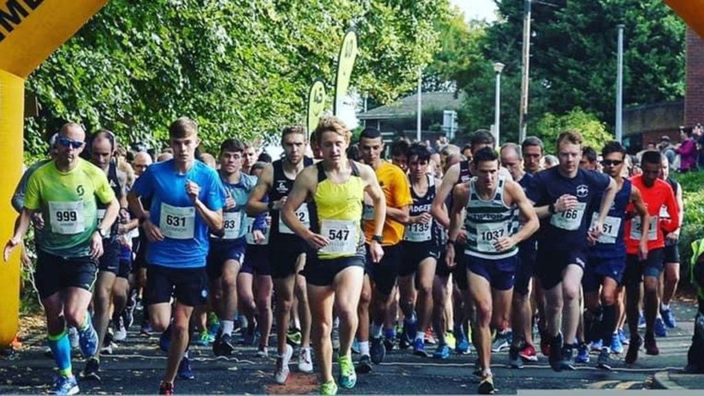 A previous Lichfield 10k race