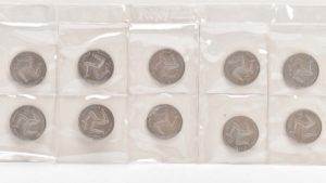 Rare set of coins to be sold at auction in Lichfield