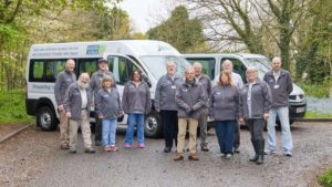 Charity volunteers celebrate awards success