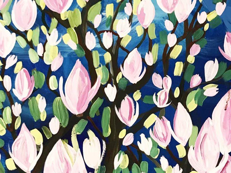 Magnolia Tree by Emma Cooper