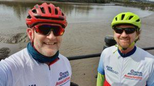 RAF veterans begin fundraising bike ride to the National Memorial Arboretum
