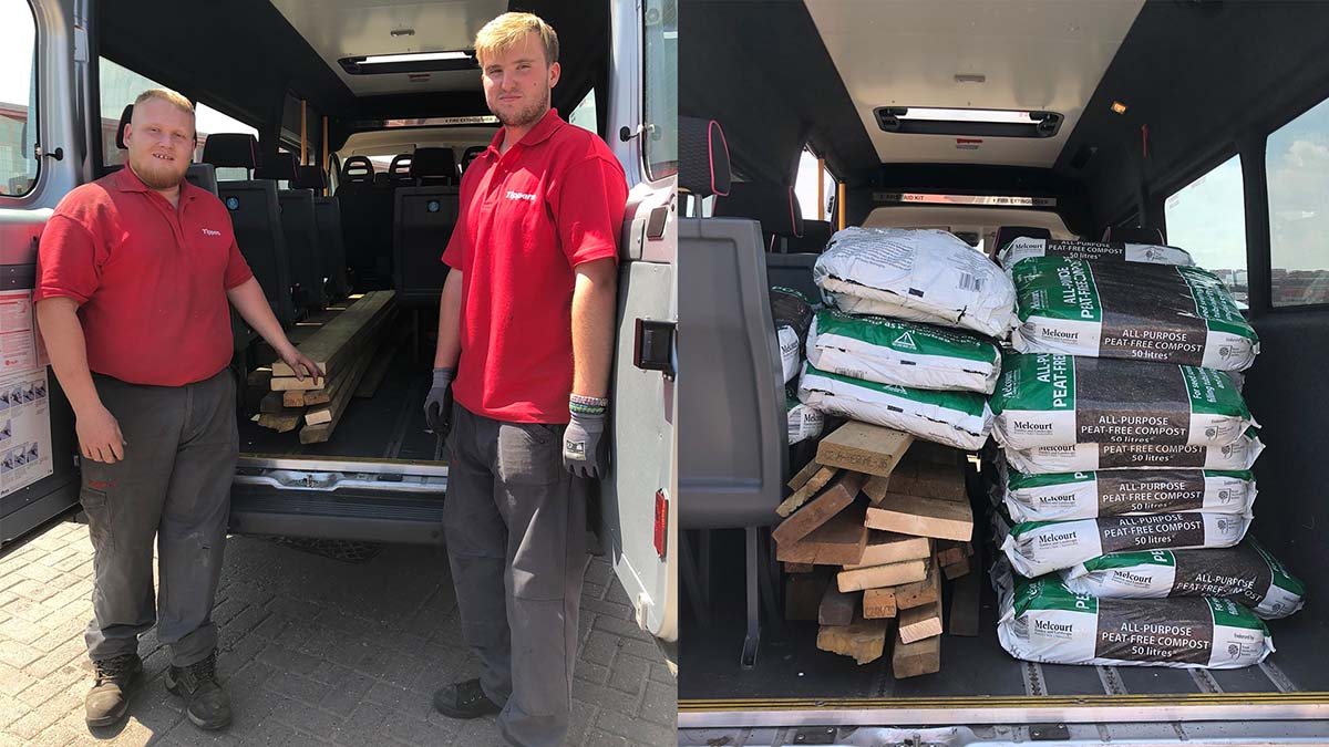 Donations from Tippers to Nether Stowe School
