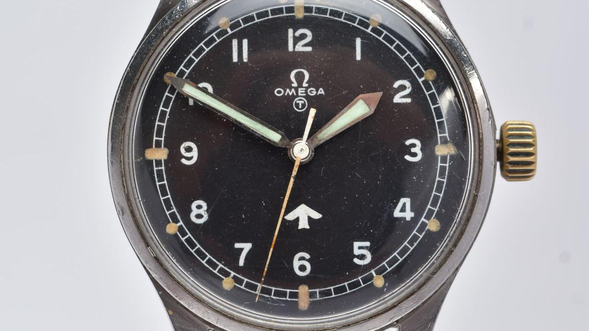 The Omega wristwatch that sold at auction in Lichfield