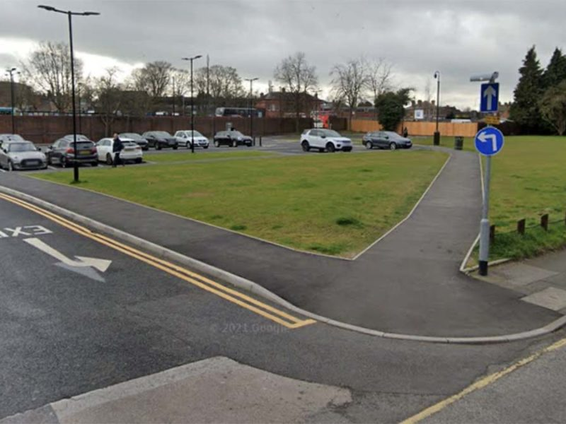 The area before travellers moved on to the site. Picture: Google Streetview