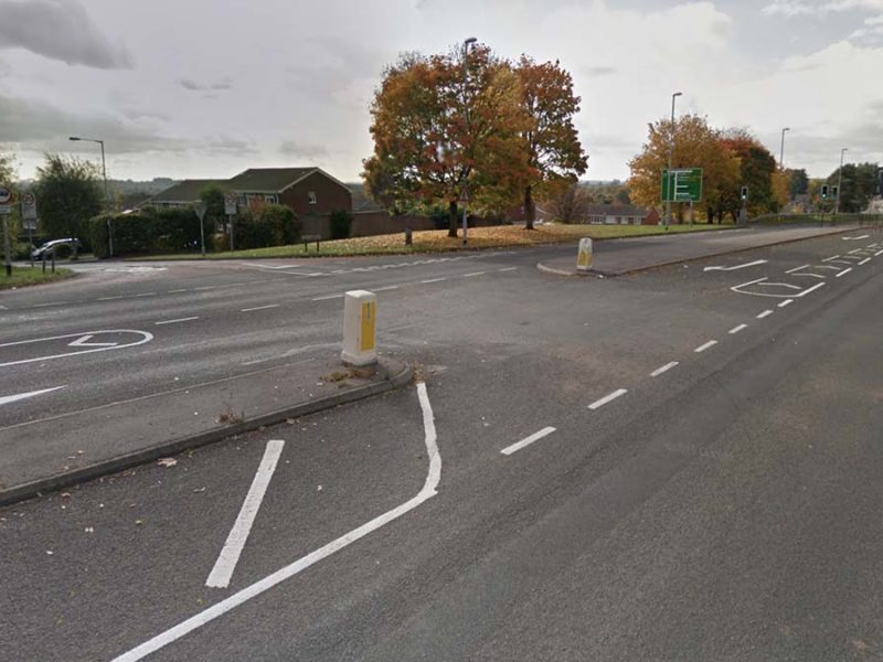 The junction at Eastern Avenue and Grange Lane. Picture: Google Streetview