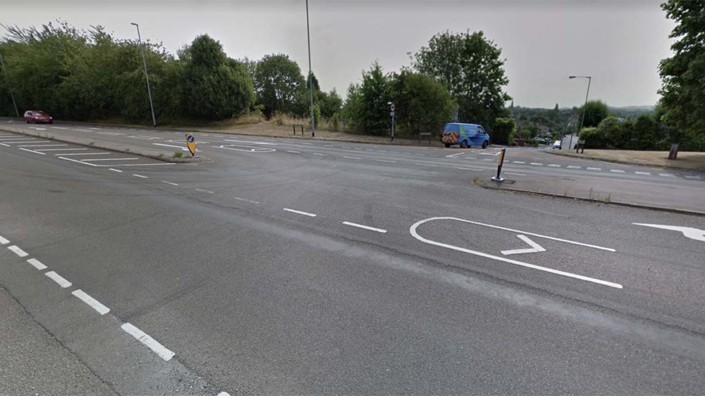 The junction of Grange Lane and Eastern Avenue. Picture: Google Streetview