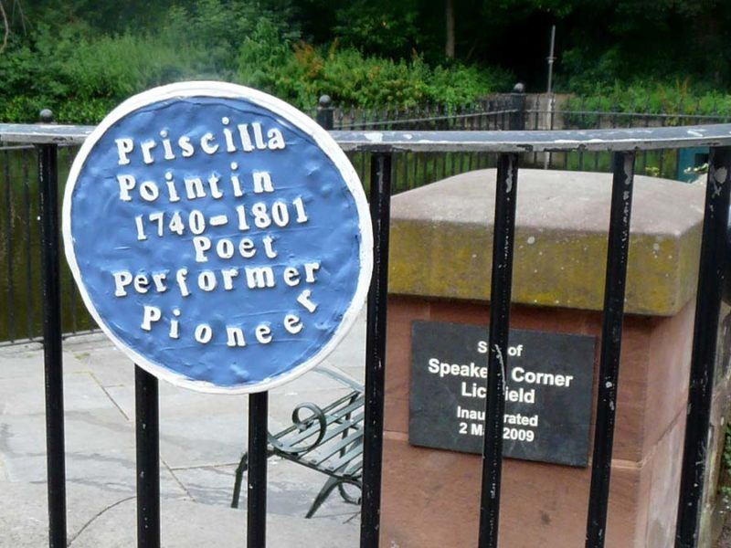 One of the plaques at Speakers' Corner