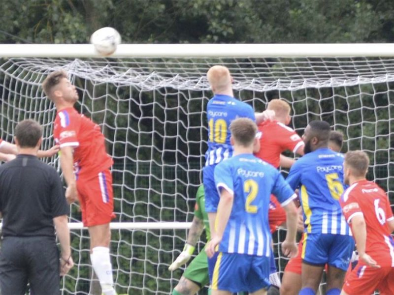 Action from Chasetown FC's pre-season game with Darlaston. Picture: Chasetown FC