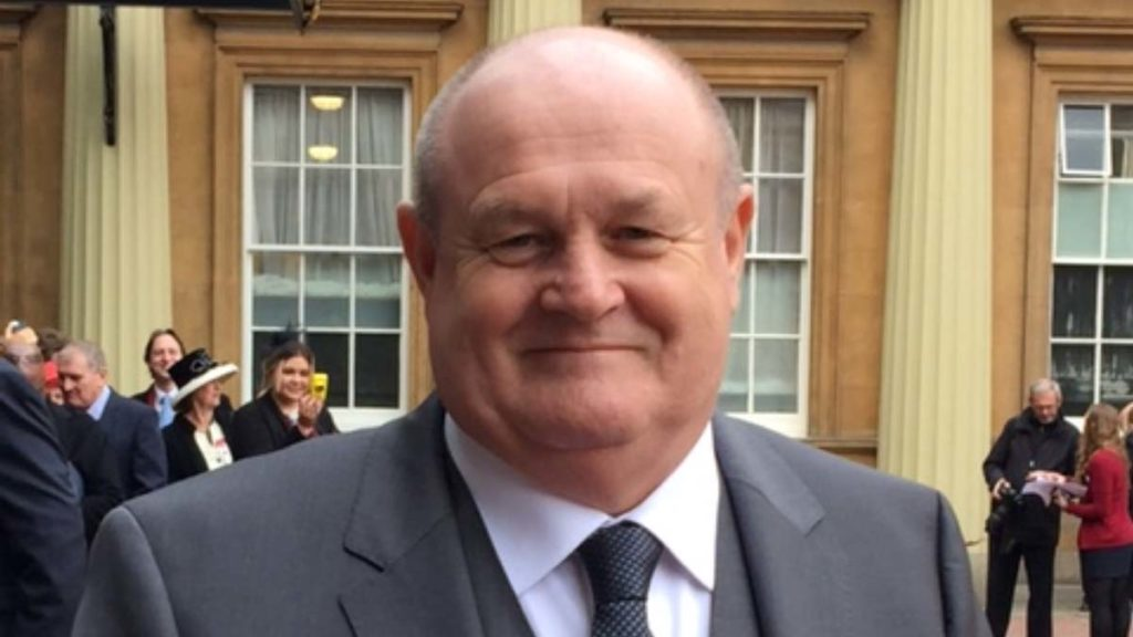 John Woodward OBE