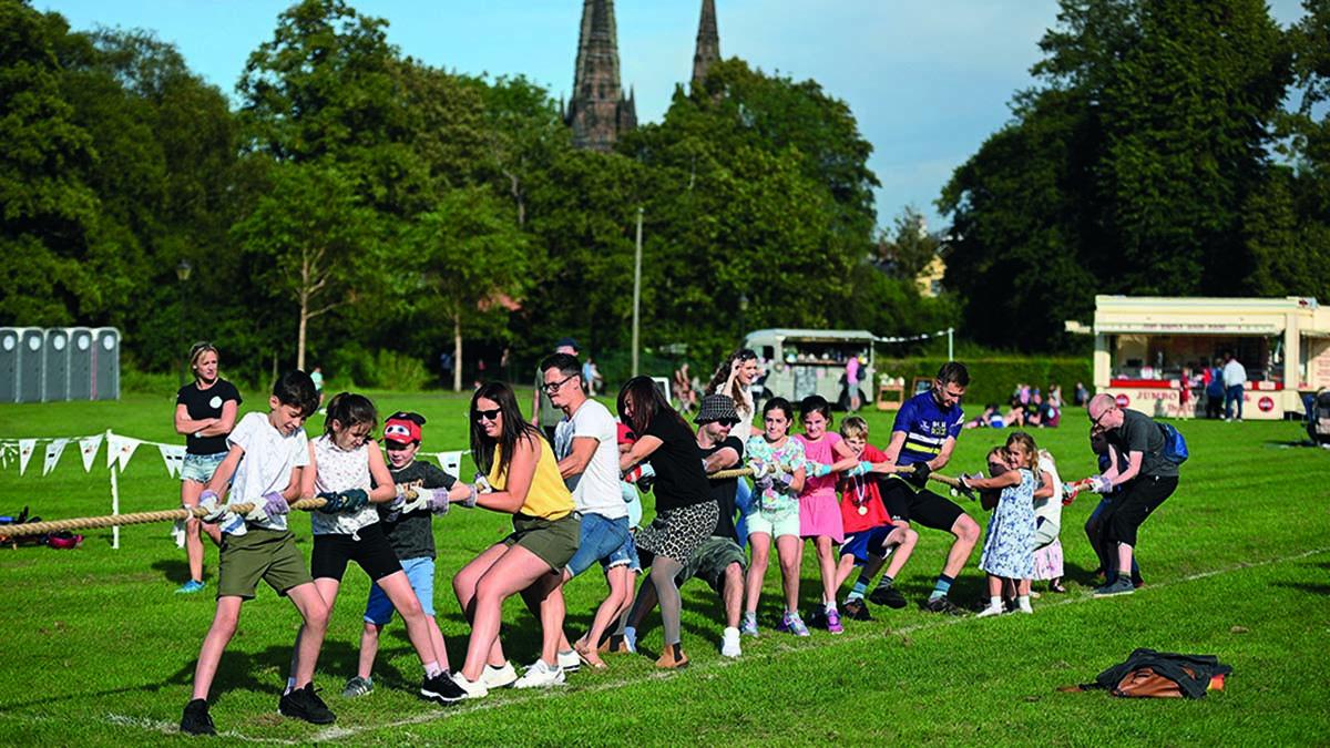 The Community Games in Lichfield