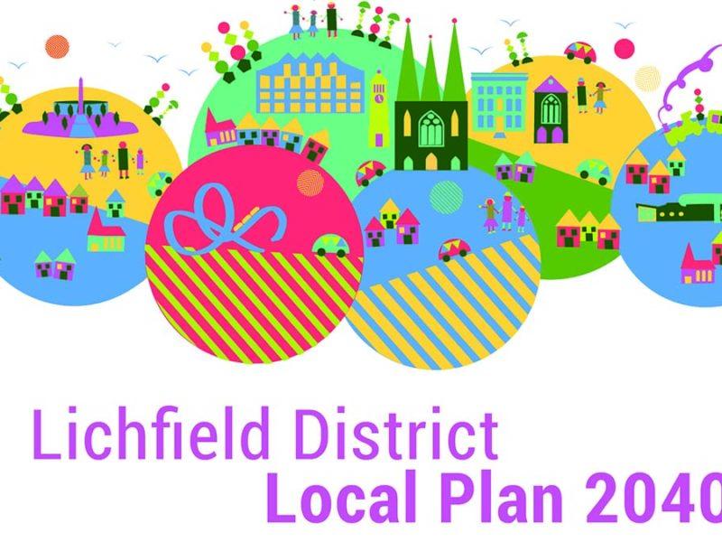 Lichfield District Local Plan logo