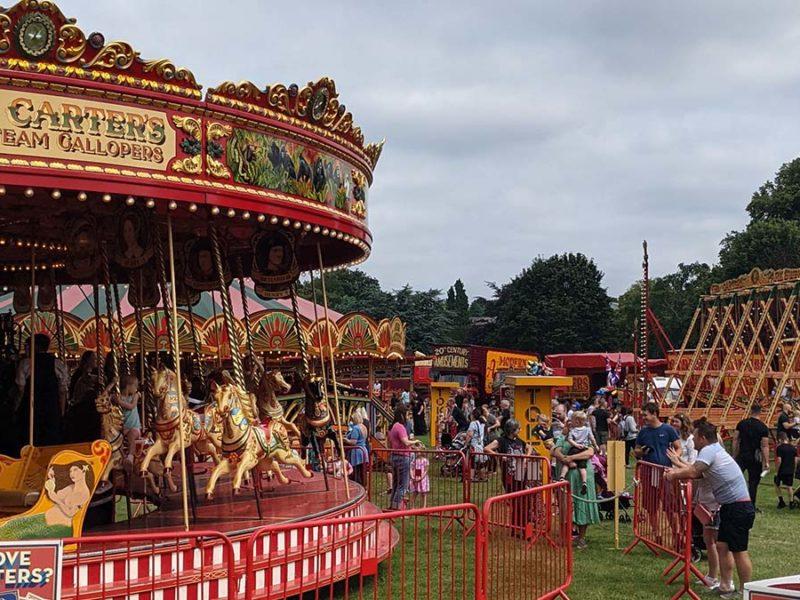 Carters Steam Fair at Beacon Park