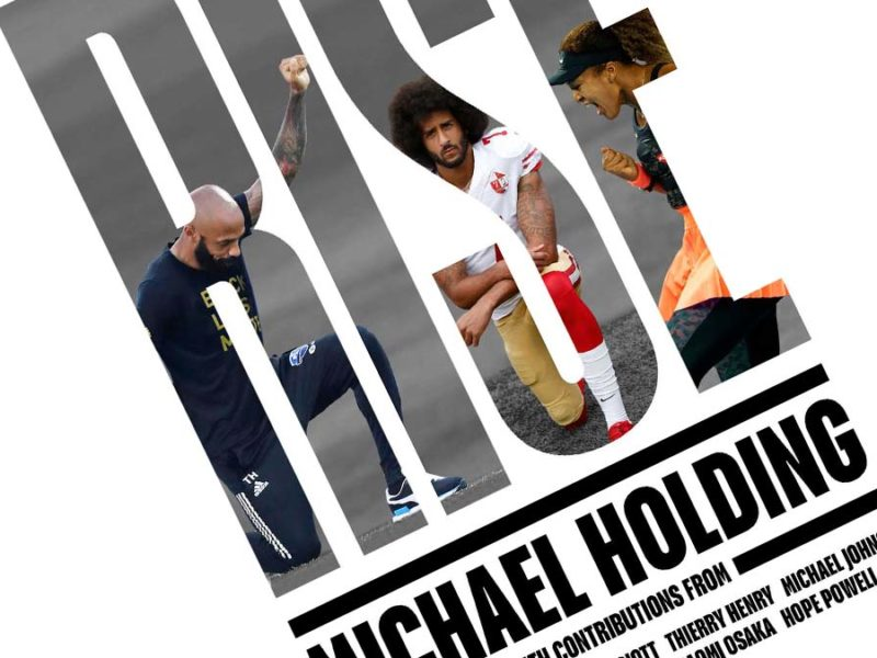 The cover of Michael Holding's new book