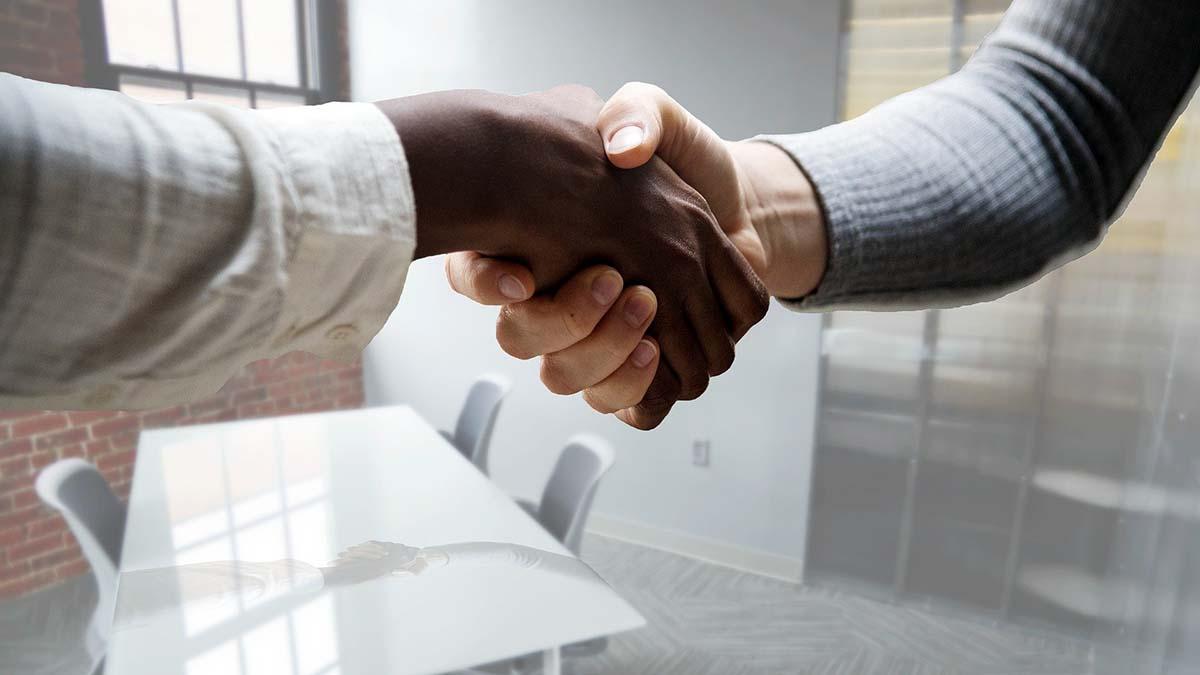 Job handshake