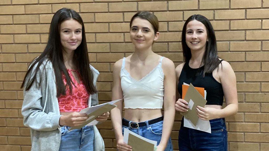Zara Howey, Jess Smart and Rose Kelly