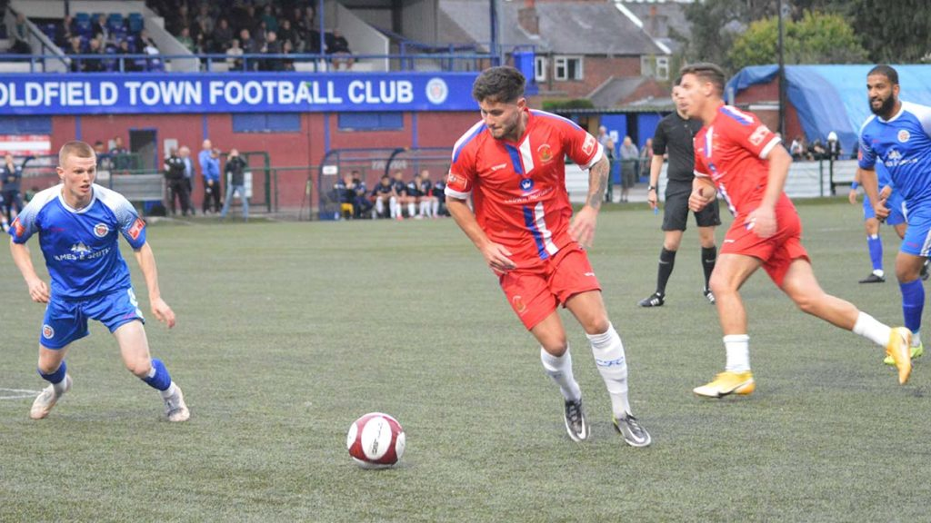 Action from Sutton Coldfield Town v Chasetown. Picture: Louise Yates