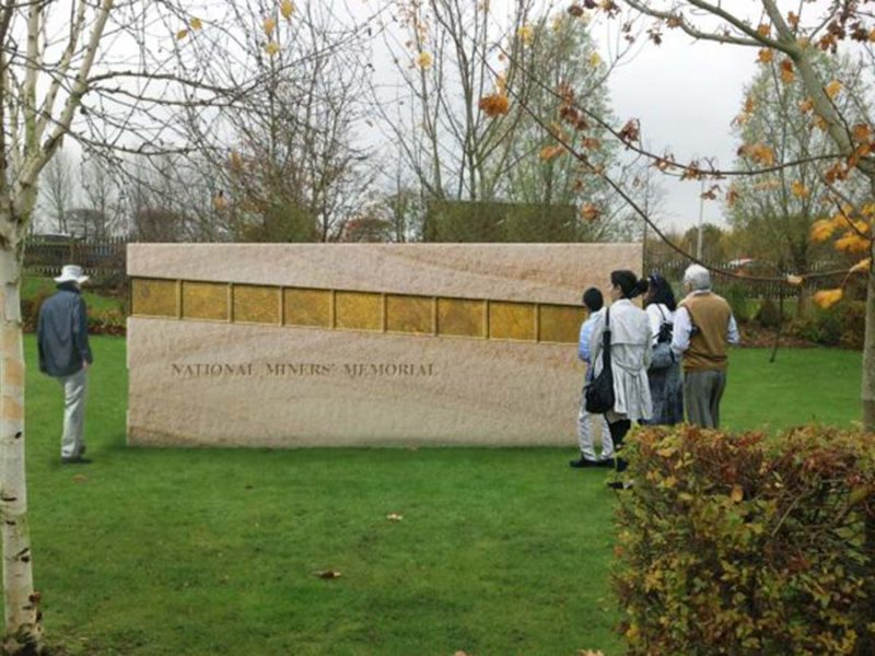 An artist's impression of the new memorial. Picture: Chase Arts for Public Spaces