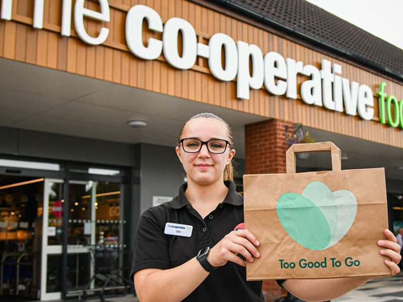 Central England Co-op has teamed up with Too Good To Go