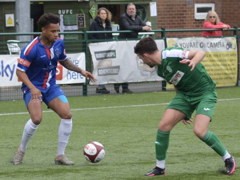 Action from Bedworth United v Chasetown. Picture: Paul Mullins