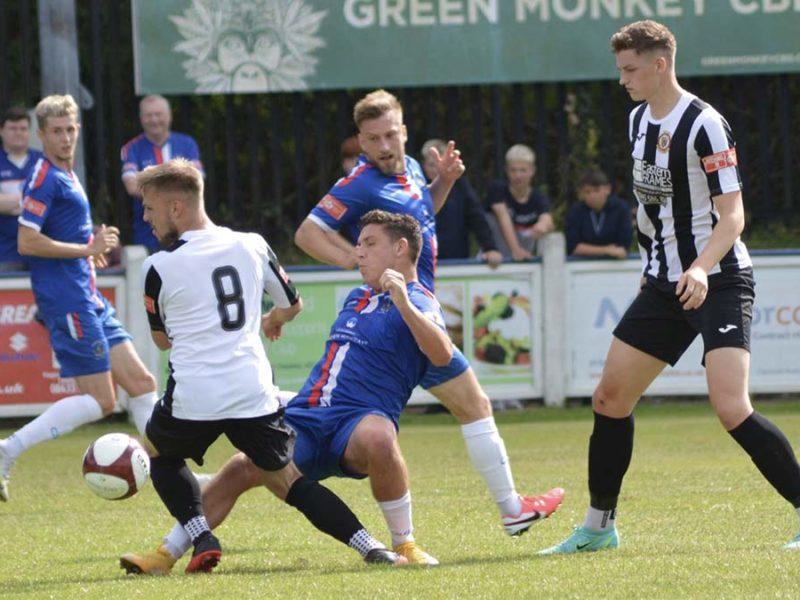 Action from Chasetown v Wisbech Town. Picture: Louise Yates