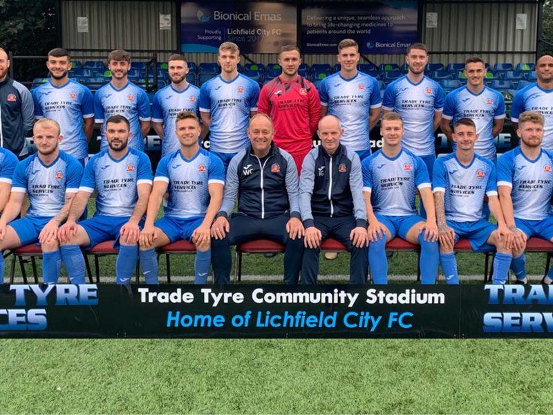 Lichfield City FC squad 21/22