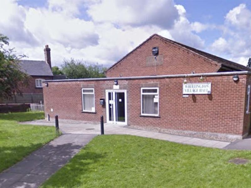 Whittington Village Hall. Picture: Google Streetview