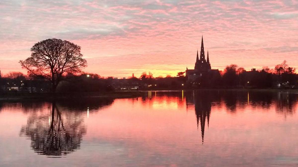 Lichfield sunset