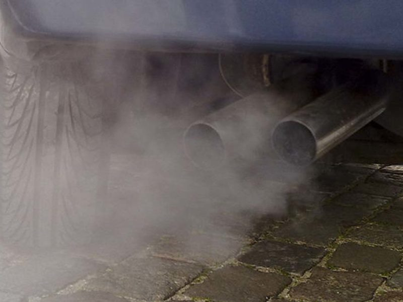 Car exhaust. Picture: Ruben de Rijcke