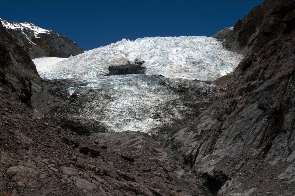 Fox Glacier and Moraine by Ed Simpson