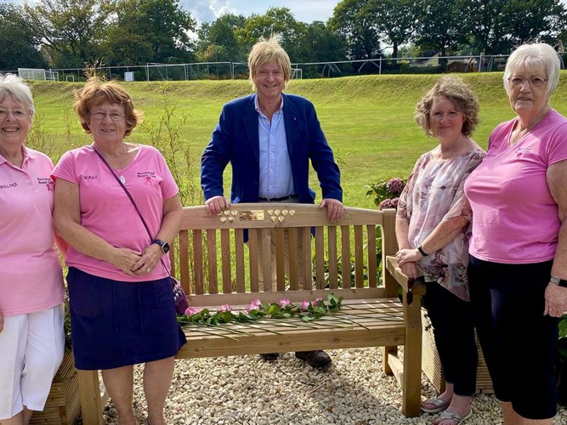 Pauline Walker, Mags Davies, Michael Fabricant, Marie Hiley, and Linda Griffith