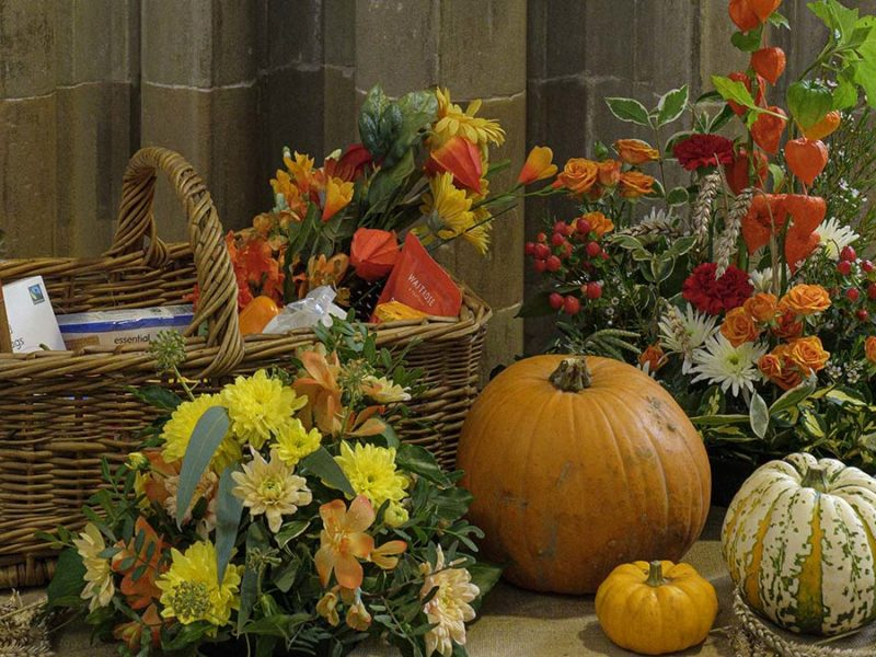 Harvest Festival. Picture: Lichfield Cathedral Photographers