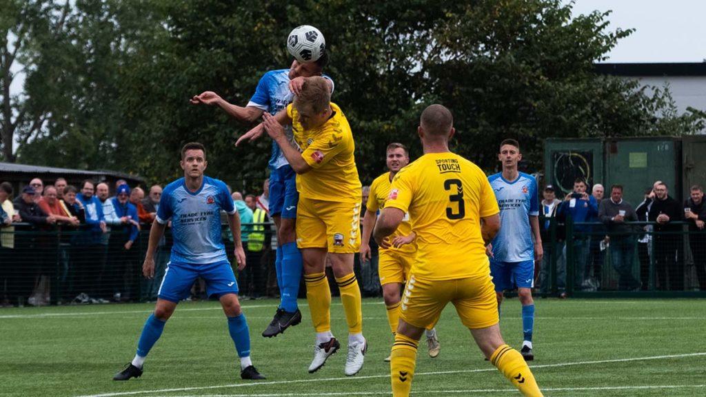 Action from Lichfield City v Nuneaton Borough. Picture James Marson
