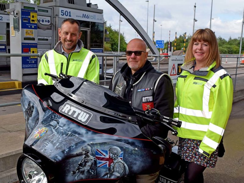 Ride to the Wall and the Midland Expressway Ltd partnership