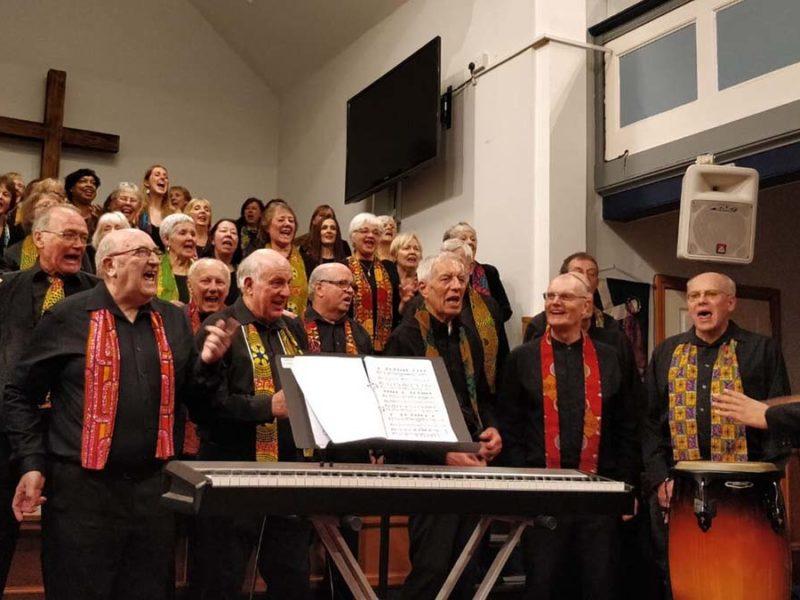 Themba Mvula and the Lichfield Gospel Choir