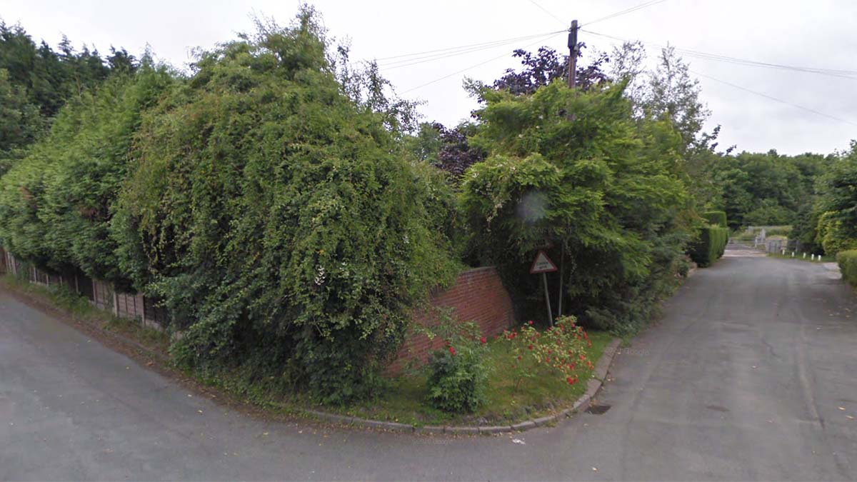 The site on Ash Tree Lane. Picture: Google Streetview